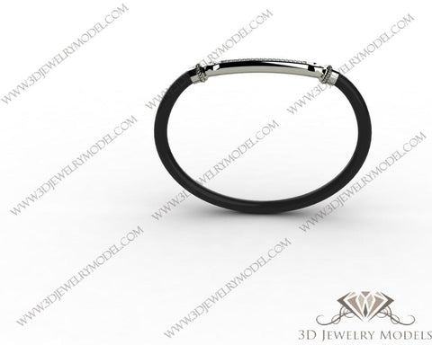 CAD CAM 3D JEWELRY MODELS 3DM STL FILES WAX 3D PRINTING RING CUSHION 00192