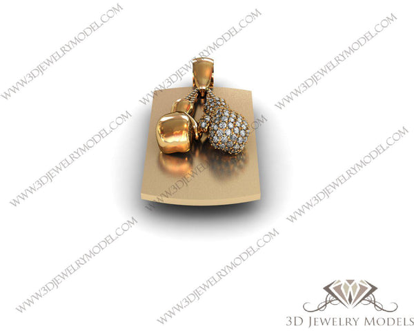CAD CAM 3D JEWELRY MODELS 3DM STL FILES WAX 3D PRINTING OTHER 00179 - 3D Jewelry Models - 1
