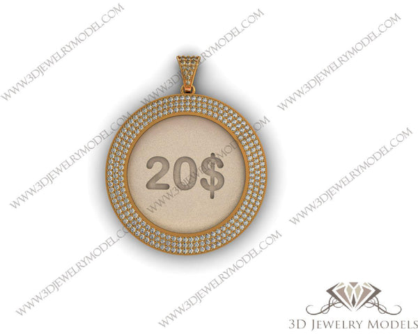 CAD CAM 3D JEWELRY MODELS 3DM STL FILES WAX 3D PRINTING OTHER 00281 - 3D Jewelry Models - 1