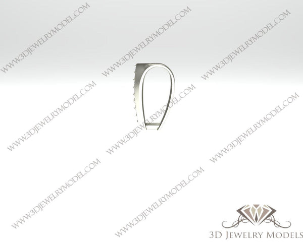 CAD CAM 3D JEWELRY MODELS 3DM STL FILES WAX 3D PRINTING OTHER 00338 - 3D Jewelry Models - 1