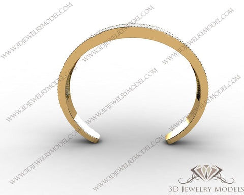 CAD CAM 3D JEWELRY MODELS 3DM STL FILES WAX 3D PRINTING RING ROUND 00330