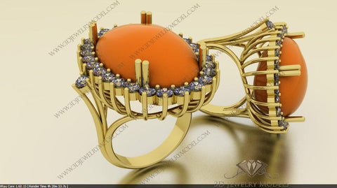 CAD CAM 3D JEWELRY MODELS 3DM STL FILES WAX 3D PRINTING OTHER 01821