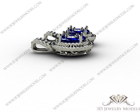CAD CAM 3D JEWELRY MODELS 3DM STL FILES WAX 3D PRINTING OTHER MARQUES 00113 - 3D Jewelry Models - 1