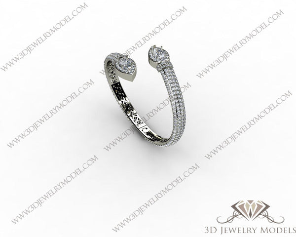 CAD CAM 3D JEWELRY MODELS 3DM STL FILES WAX 3D PRINTING RING 00310
