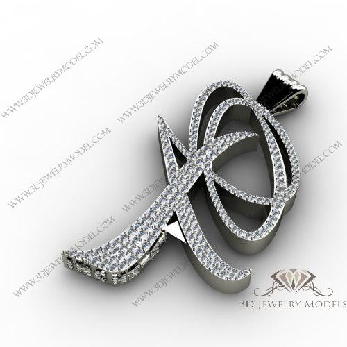 CAD CAM 3D JEWELRY MODELS 3DM STL FILES WAX 3D PRINTING RING 00513