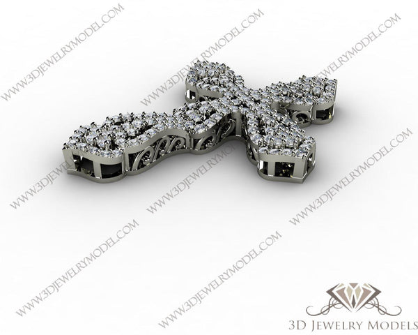 CAD CAM 3D JEWELRY MODELS 3DM STL FILES WAX 3D PRINTING RING CUSHION 00445
