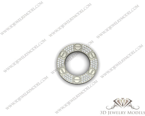 CAD CAM 3D JEWELRY MODELS 3DM STL FILES WAX 3D PRINTING RING SQUARE 00480