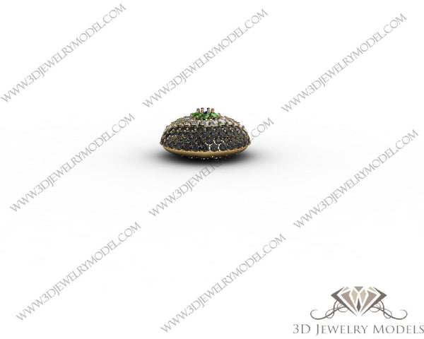 CAD CAM 3D JEWELRY MODELS 3DM STL FILES WAX 3D PRINTING RING 00015