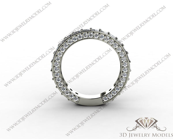 CAD CAM 3D JEWELRY MODELS 3DM STL FILES WAX 3D PRINTING RING 00178 - 3D Jewelry Models - 1
