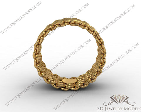 CAD CAM 3D JEWELRY MODELS 3DM STL FILES WAX 3D PRINTING RING 00499 - 3D Jewelry Models - 1