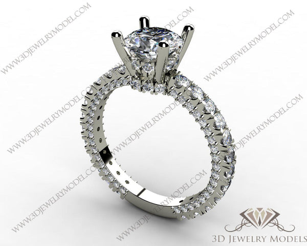 CAD CAM 3D JEWELRY MODELS 3DM STL FILES WAX 3D PRINTING RING OVAL 00082