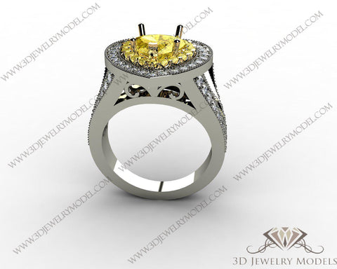 CAD CAM 3D JEWELRY MODELS 3DM STL FILES WAX 3D PRINTING RING ROUND 00442