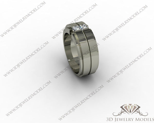 CAD CAM 3D JEWELRY MODELS 3DM STL FILES WAX 3D PRINTING RING 00491