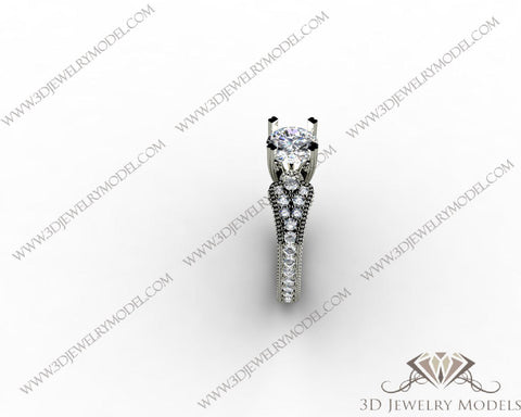 CAD CAM 3D JEWELRY MODELS 3DM STL FILES WAX 3D PRINTING RING 00506
