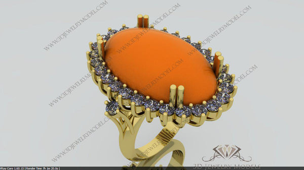 CAD CAM 3D JEWELRY MODELS 3DM STL FILES WAX 3D PRINTING OTHER 00005