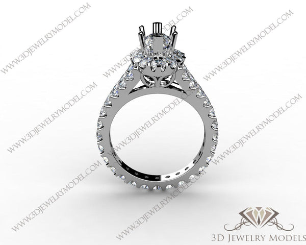 CAD CAM 3D JEWELRY MODELS 3DM STL FILES WAX 3D PRINTING RING 02283