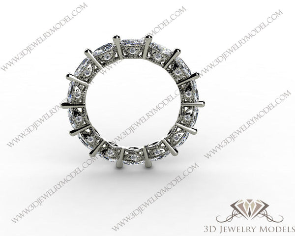 CAD CAM 3D JEWELRY MODELS 3DM STL FILES WAX 3D PRINTING RING MARQUES 00145 - 3D Jewelry Models - 1