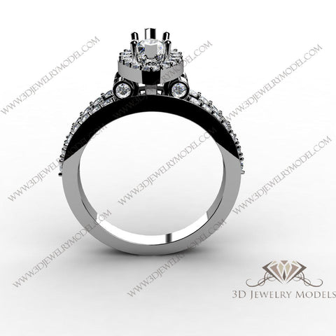 CAD CAM 3D JEWELRY MODELS 3DM STL FILES WAX 3D PRINTING RING MARQUES 02791