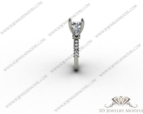 CAD CAM 3D JEWELRY MODELS 3DM STL FILES WAX 3D PRINTING RING SQUARE 00262
