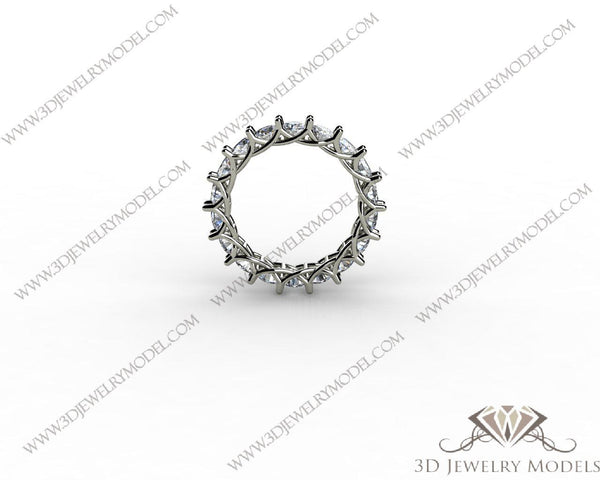 CAD CAM 3D JEWELRY MODELS 3DM STL FILES WAX 3D PRINTING RING ROUND 00263 - 3D Jewelry Models - 1