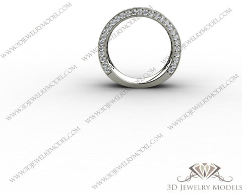 CAD CAM 3D JEWELRY MODELS 3DM STL FILES WAX 3D PRINTING RING SQUARE 00225