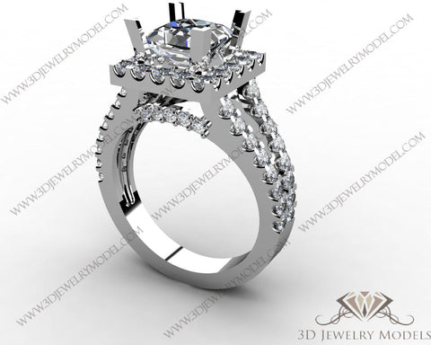 CAD CAM 3D JEWELRY MODELS 3DM STL FILES WAX 3D PRINTING RING ROUND 00290