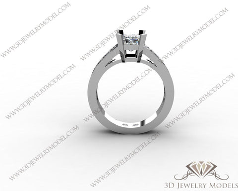 CAD CAM 3D JEWELRY MODELS 3DM STL FILES WAX 3D PRINTING RING 00525