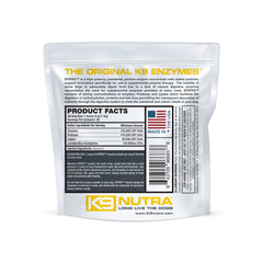 K9 NUTRA™ EPIPAK™ Pancreatic Enzymes For Dogs pouch rear view