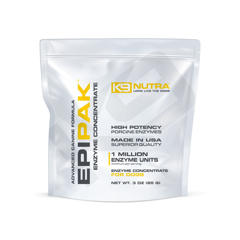 K9 NUTRA™ EPIPAK™ Pancreatic Enzymes For Dogs pouch front view