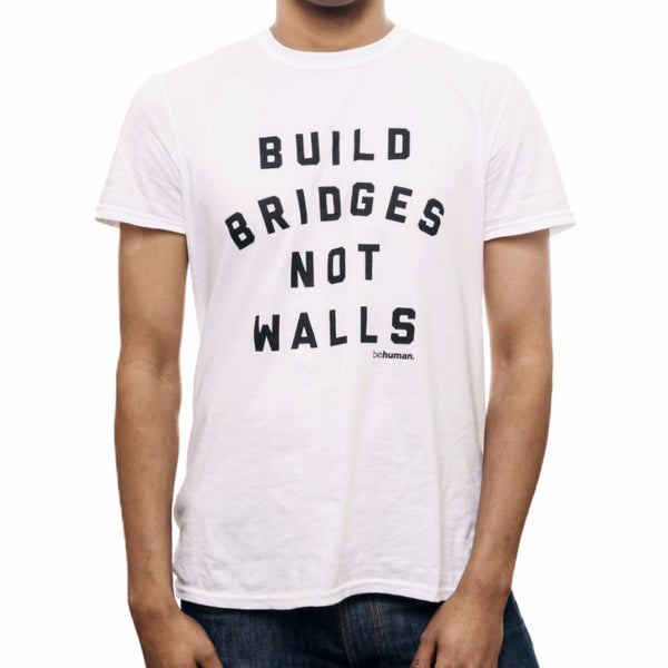 Men's Build Bridges Not Walls T-Shirt