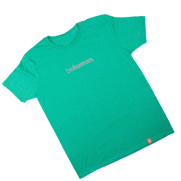 Unisex Behuman Irish Green Blue T-Shirt