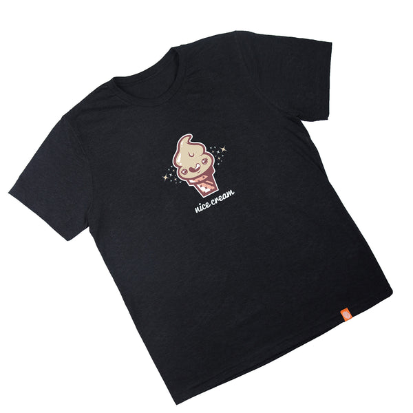 Men's Nice Cream Black T-Shirt