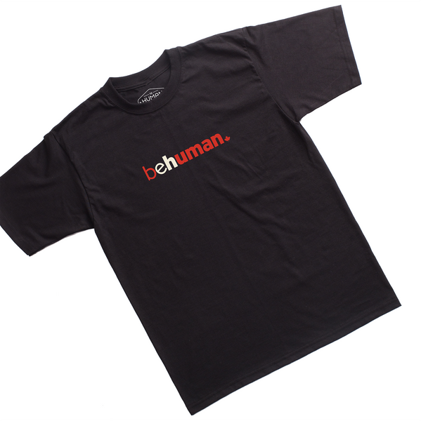 Men's Canada Behuman Black T-Shirt