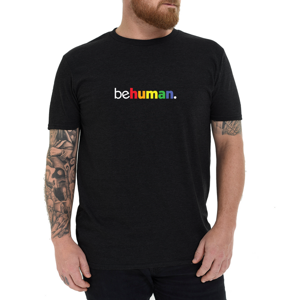 Men's Pride Behuman Black T-Shirt