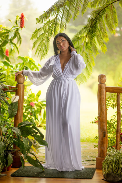 White Diamond Maxi Dress