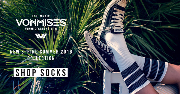 VONMISES SOCKS - NEW ERA IS COMING!!! SS2016