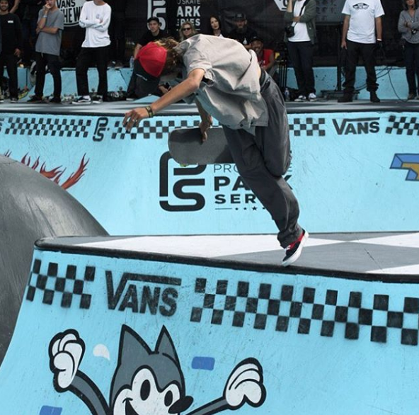 IVAN FEDERICO FIRST PLACE AT VANS PARK SERIES VANCOUVER!