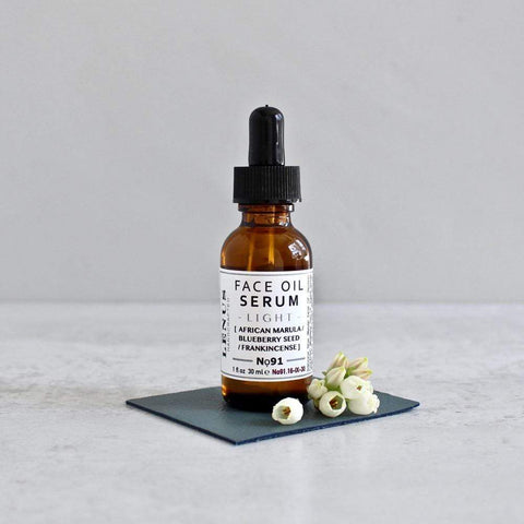 Best organic anti aging face oil for all skin types with exotic seed and botanical oils.