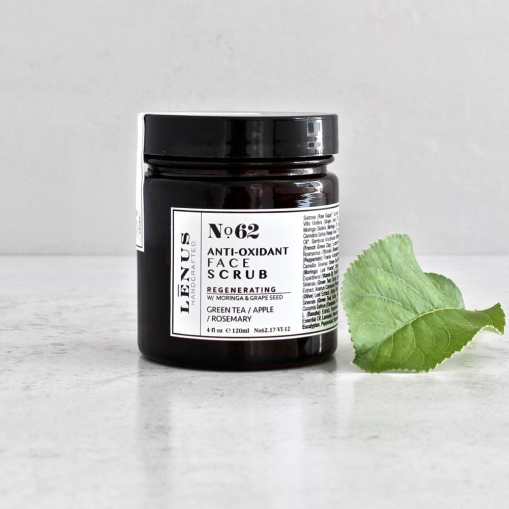 Nọ 62 GREEN TEA FACE SCRUB / ANTIOXIDANT