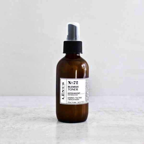 Aftershave toner for acne, blemishes and problematic skin.