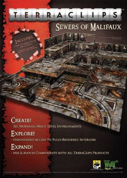 Terraclips Sewer of Malifaux | Boutique FDB
