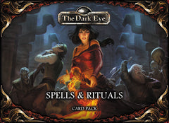 dark eye rpg Spells and rituals card set