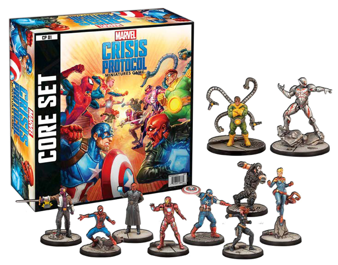 Marvel: Crisis Protocol Core Set | Boutique FDB