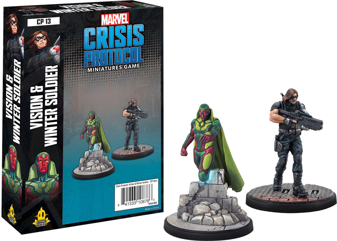 Marvel Crisis Protocol: Vision and Winter Soldier | Boutique FDB