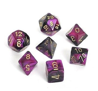 Chessex 7 dice set chx26440