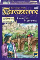 Carcassonne - Extension #6 - Comte, roi et brigand | Boutique FDB