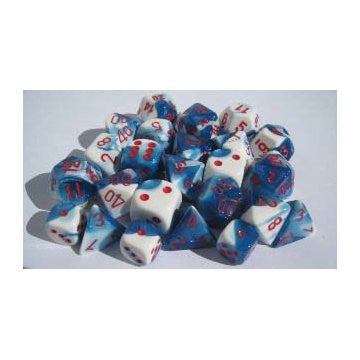 Gemini 7 Dice ASTRAL-BLUE/RED | Boutique FDB