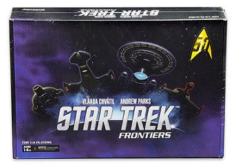 STAR TREK FRONTIERS BOARD GAME