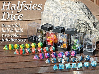 HALFSIES DICE - Moonlight sonata 7-DICE SET