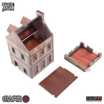 EWAR: TWO-STOREY BUILDING COLOUR ED (15-20MM SCALE)